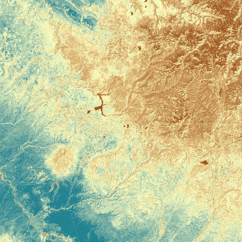 Single Colorado Landsat Tile